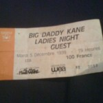 big daddy kane ticket